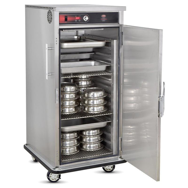FWE Model UHST-GN-4860-BQ Universal Heated Banquet Cabinet with Top Mount Heat