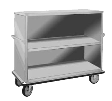 "FWE Model UCE-315 Super Duty Queen Mary Utility Cart with 3 Shelves 24"" x 57"""