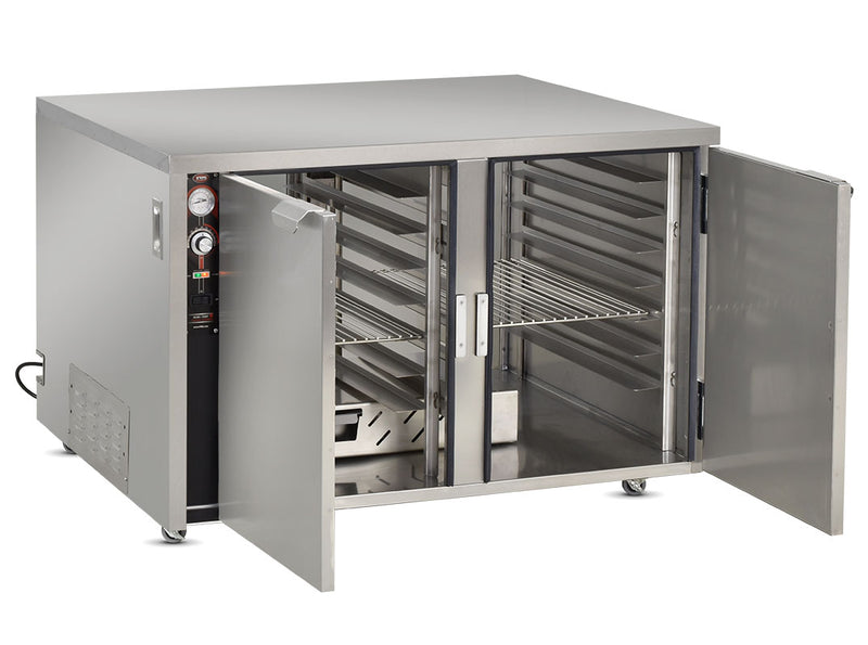 FWE Model TS-1633-28 Mobile Heated Pizza Cabinet with Humi-Temp