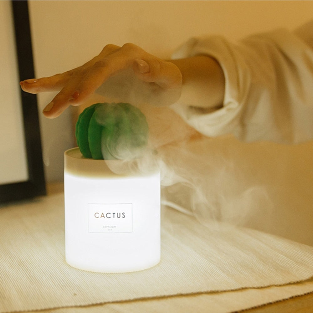 Cactus Ultrasonic Essential Oil Diffuser