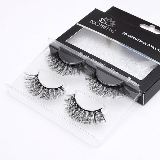 2Pairs Mink Eyelash Extension