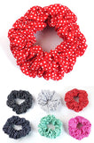 Polka Dot Scrunchie - Single