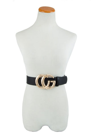 Go Girl Mega Buckle Belt