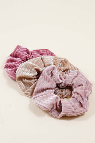 Textured Scrunchies