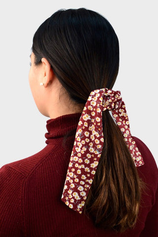Pony Tail Scarf - Floral