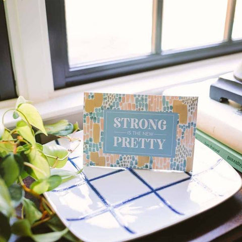 "Bridgewater Sweet Grace ""Strong is the New Pretty"" Sachet"