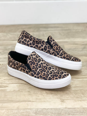 Take a Hike Sneakers Leopard