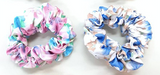 Set of Two Floral Scrunchies