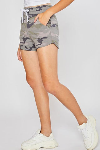 Dare To Dream Shorts in Camo