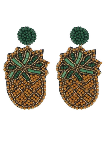 Pineapple of my Eye Earrings