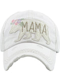 Mama Bear Lace Patch Baseball Cap Hat