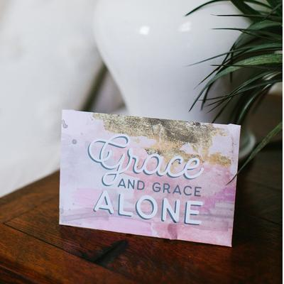 "Bridgewater Sweet Grace ""Grace Alone"" Sachet"