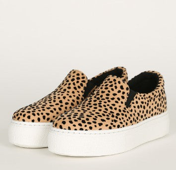 Take a Hike Sneakers - Cheetah
