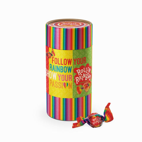 Koker met Rollin' Rainbows