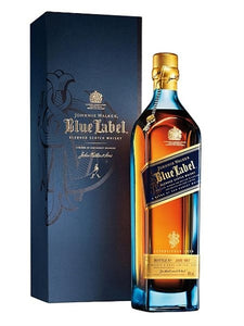 Johnnie Walker Blue Label Scotch Whisky with Box 750ML