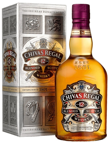 Chivas Regal 12 Years Scotch