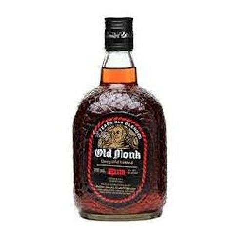 Old Monk 7 Year Old Very Old Vatted 750ML
