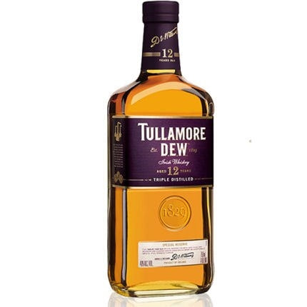 Tullamore Dew Irish 12YR Whiskey 750ML