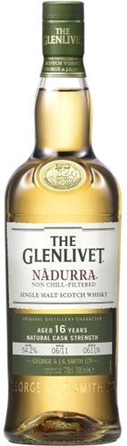 Glenlivet Nadurra 16 yrs Single Malt Scotch 750ml