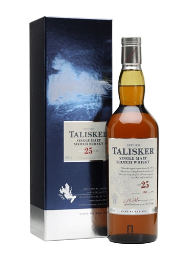 Talisker Single Malt Scotch Whisky 25 years 750ML