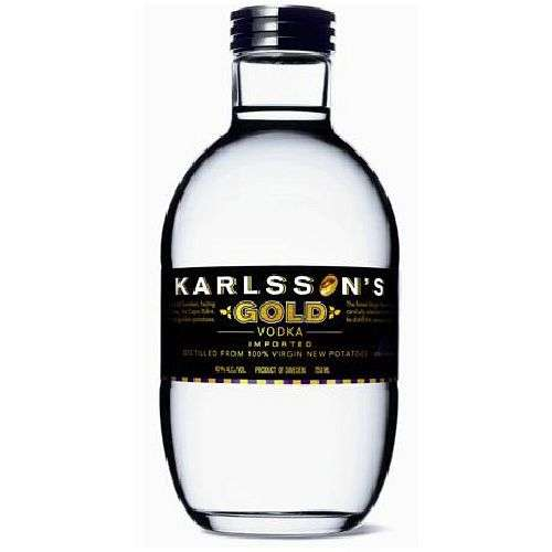 Karlsson's Gold Potato Vodka 750ml