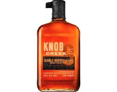 Knob Creek Single Barrel Reserve 120 proof 750 ml