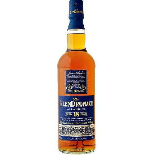 Glendronach Single Malt 18 Year Allardice 750ML