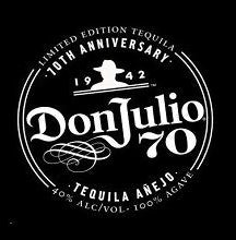 Don Julio Anejo Claro 70th Anniversary Tequila Limited Edition 750ML