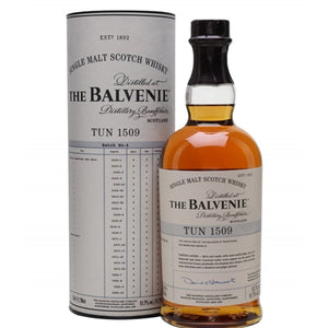 The Balvenie Tun 1509 Batch No. 4 Single Malt Scotch Whisky 750ml