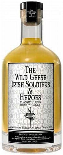 The Wild Geese Irish Soldiers & Heroes Classic Blend Irish Whiskey 750ML