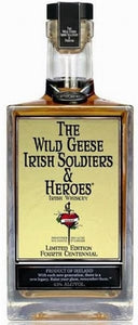 The Wild Geese Irish Soldiers & Heroes Irish Whiskey Limited Edition Fourth Centennial 750ML