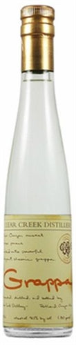 Clear Creek Distillery Grappa Moscato 375ML