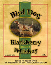 Load image into Gallery viewer, Bird Dog Blackberry Flavored Whiskey 80 Proof 12pk 50ml
