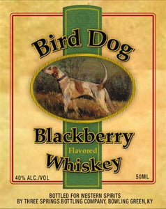 Bird Dog Blackberry Flavored Whiskey 80 Proof 12pk 50ml