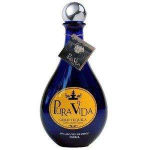 Pura Vida 80 Proof Gold Tequila 750ML