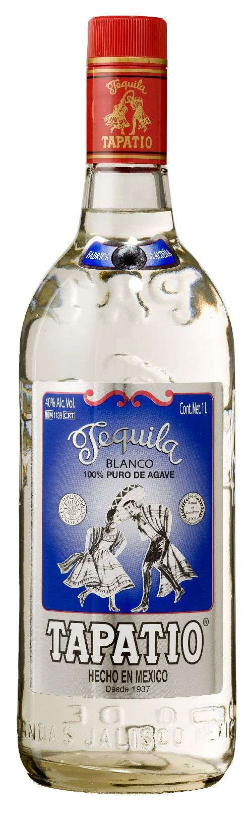 Tapatio Blanco 80 Proof Blanco Tequila