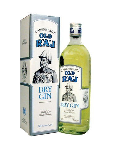 Cadenhead's Old Raj Dry Gin 110 Proof