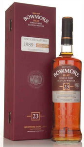 Bowmore 23YR  Islay Single Malt Whisky Port Cask Matured 1989