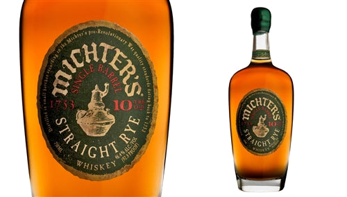 Michter's Single Barrel 10 Year Straight Rye Whiskey 750ml