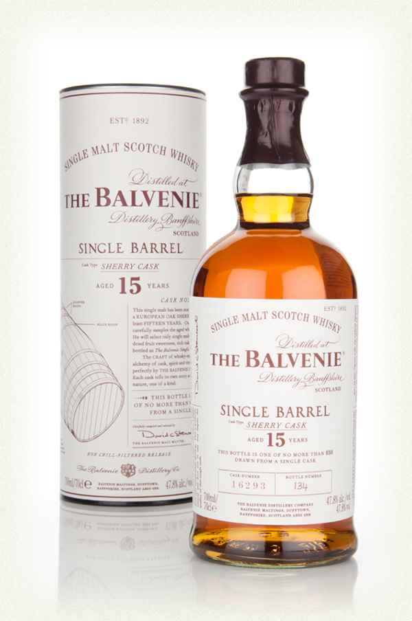 The Balvenie Single Barrel 15 Years Sherry Cask Scotch Whisky