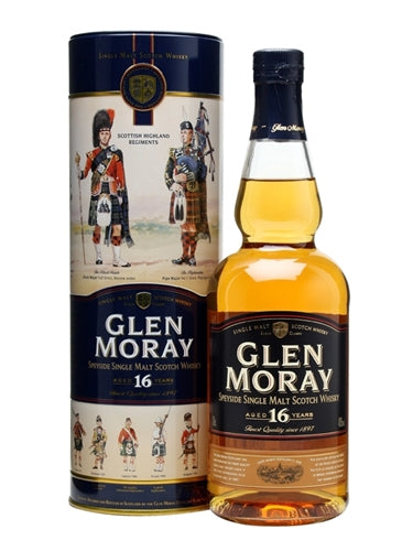 Glen Moray 16 YR Single Malt Scotch Whisky 750ml