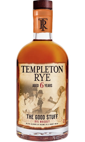 Templeton Rye Whiskey Aged 6 Years 750ml