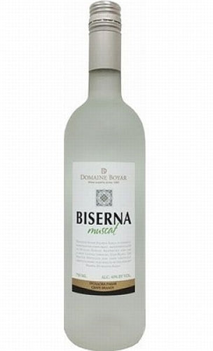 Domaine Boyar Biserna Muscat Grape Brandy 750ml