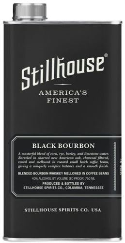 Stillhouse Black Bourbon Blended Whiskey With Coffee Beans 750ml