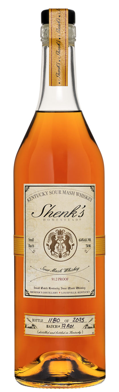 Shenk's Homestead 2018 Release Kentucky Sour Mash Whiskey
