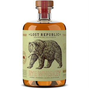 Lost Republic Distillery Rye Whiskey 750ml
