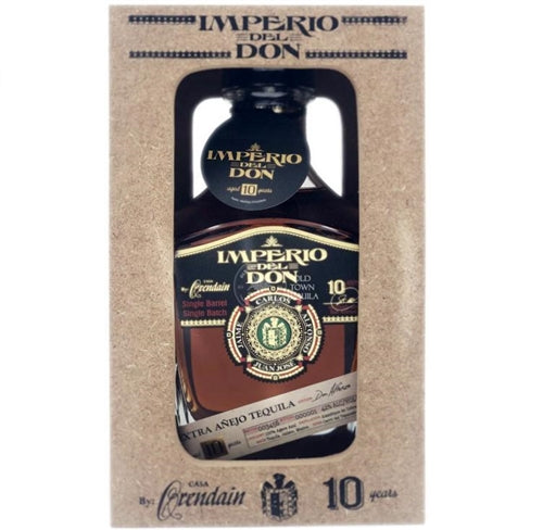 Imperio Del Don 10 Years Extra Anejo Tequila 750ml
