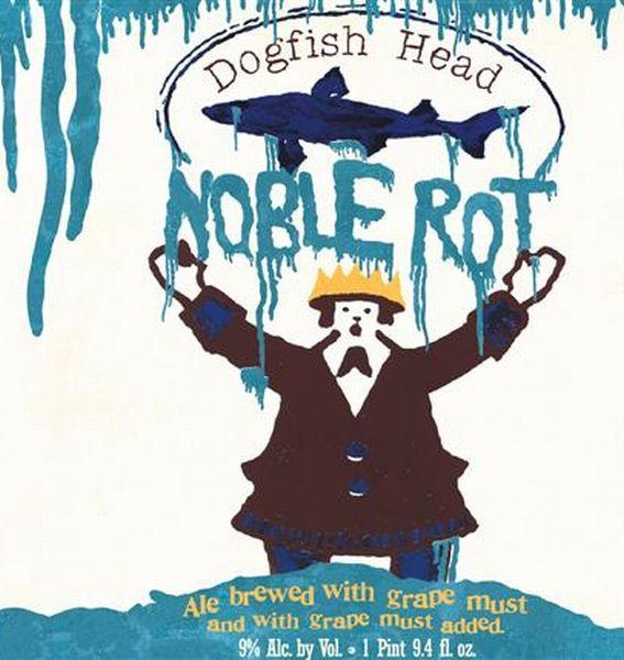 DOGFISH HEAD NOBLE ROT 9.4 fl oz