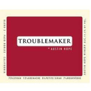 Troublemaker Red Austin Hope 750ML