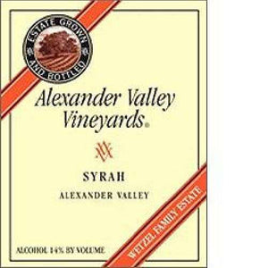 Alexander Valley Syrah 375ML
